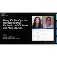 Logo of the podcast Using SQL Data Sync for Bidirectional Data Replication in SQL Server and Azure SQL DBs | Data Expos…