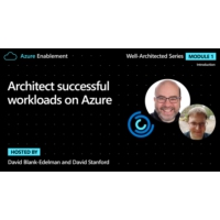 Logo of the podcast Architect successful workloads on Azure | Introduction Ep. 1: Well-Architected Series | Azure Enabl…