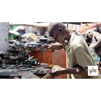 Logo du podcast Suomestakin voi päätyä elektroniikkaromua Afrikkaan
