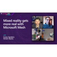Logo du podcast Mixed reality gets more real with Microsoft Mesh | The Solutions Show with Corey