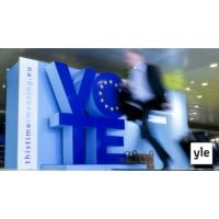 Logo du podcast Euroopan parlamentti astuu uuteen aikaan
