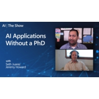 Logo of the podcast AI Applications Without a PhD | AI Show