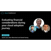 Logo du podcast Evaluating financial considerations during your cloud adoption journey  | Azure Enablement
