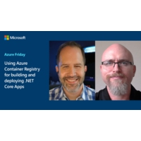 Logo of the podcast Using Azure Container Registry for building and deploying .NET Core Apps | Azure Friday
