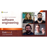 Logo of the podcast CodeStories Denmark | All about sustainable software engineering | CodeStories
