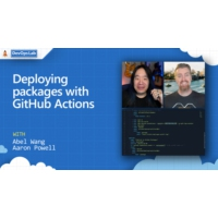 Logo du podcast Deploying packages with GitHub Actions | The DevOps Lab
