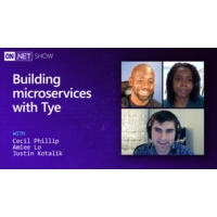 Logo du podcast Building microservices with Tye | On .NET