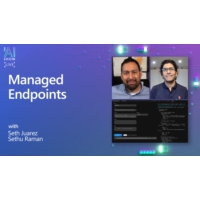 Logo of the podcast Managed Endpoints | AI Show