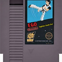Logo of the podcast EGO: The Eighties Geek Out Podcast – Episode 18: Dungeons & Dragons
