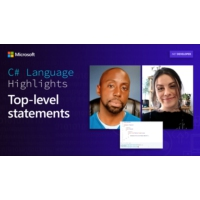 Logo du podcast C# Language Highlights: Top-level statements | On .NET