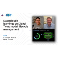 Logo of the podcast Elastacloud's learnings on Digital Twins model lifecycle management | Internet of Things Show