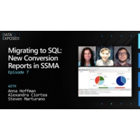 Logo of the podcast Migrating to SQL: New Conversion Reports in SSMA (Ep. 7) | Data Exposed