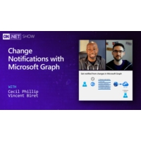 Logo of the podcast Change Notifications with Microsoft Graph | On .NET