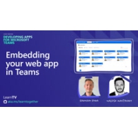 Logo of the podcast Embedding your web app in Teams | Learn Together: Developing Apps for Teams