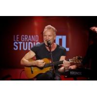 "Logo of the podcast Sting en concert dans ""Le Grand Studio RTL"""