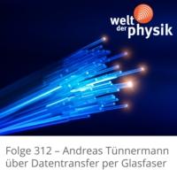 Logo of the podcast Folge 312 – Datenübertragung per Glasfaser
