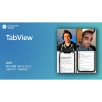 Logo of the podcast Xamarin Community Toolkit: TabView | The Xamarin Show
