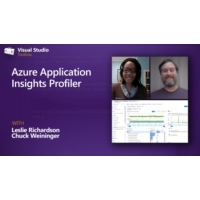 Logo of the podcast Azure Application Insights Profiler  | Visual Studio Toolbox