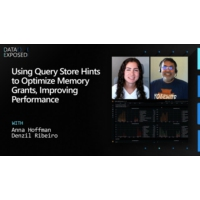 Logo of the podcast Using Query Store Hints to Optimize Memory Grants, Improving Performance | Data Exposed