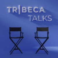 "Logo of the podcast Take a Listen to ""Tribeca Talks"""