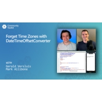 Logo du podcast Xamarin Community Toolkit - Forget Time Zones with DateTimeOffsetConverter | The Xamarin Show