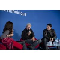 Logo of the podcast « PAROLES D'AUTEUR » : MAXIME CHATTAM, HENRI LOEVENBRUCK. « THRILLER ET NUMERIQUE, DUO GAGNANT ? »,…