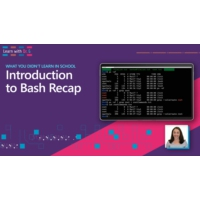 Logo du podcast Introduction to Bash Recap | Learn with Dr G | Learn with Dr. G