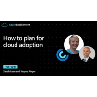 Logo of the podcast How to plan for cloud adoption | Azure Enablement