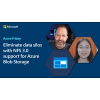 Logo of the podcast Eliminate data silos with NFS 3.0 support for Azure Blob Storage | Azure Friday