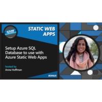 Logo of the podcast Setup Azure SQL Database to use with Azure Static Web Apps [Bonus] | Azure Tips and Tricks: Static …
