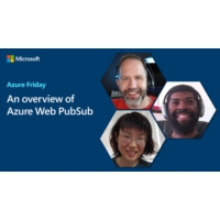 Logo of the podcast An overview of Azure Web PubSub | Azure Friday