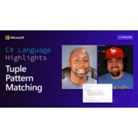 Logo du podcast C# Language Highlights: Tuple Pattern Matching  | On .NET