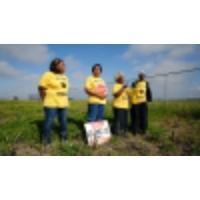 Logo of the podcast From Louisiana to Taiwan, environmental activists stand up to a major plastics company