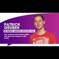 Logo de l'animateur Patrick Gruben
