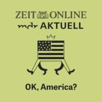 Logo of the podcast OK, America?