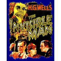 Logo of the podcast ch. 05 - 07, Invisible Man by H.G. Wells