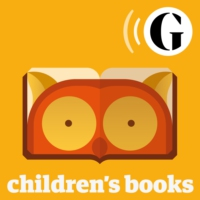 Logo of the podcast Jacqueline Wilson for Guardian children's books podcast: 'This is a story competition about your im…