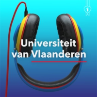 Logo of the podcast De Universiteit van Vlaanderen Podcast