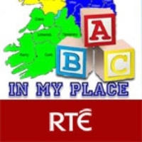 Logo of the podcast In My Place, Carrick Regan Roberts, Mayo