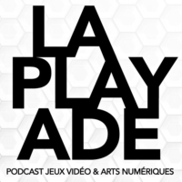 Logo du podcast La Playade #45 (Avril 2021) avec Frédéric Coispeau du Cartel Studio, A Pirate Quartermaster...