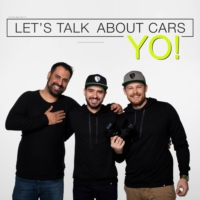 Logo of the podcast Lets Talk About Cars YO!