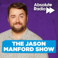 Logo of the podcast The Jason Manford Show - Covered by Kojo Anim and Matt Richardson
