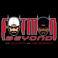 Logo of the podcast 289: Greg Rucka! - FatMan Beyond LIVE!