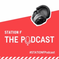 Logo of the podcast STATION F: The Podcast