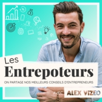Logo of the podcast LES ENTREPOTEURS