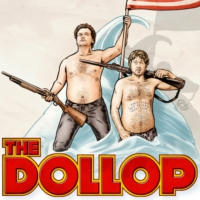 Logo of the podcast The Dollop with Dave Anthony and Gareth Reynolds