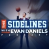 Logo of the podcast The Sidelines with Evan Daniels