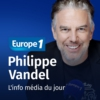 Logo of the podcast L'info média du jour -  Philippe Vandel