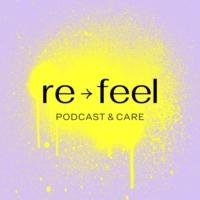 Logo du podcast re-feel podcast