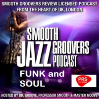 Logo of the podcast Smooth Groovers Licensed Jazz Funk Soul and Smooth Jazz Podcast